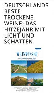 Chefredakteur WEINWISSER Giuseppe Lauria : Die besten Frankenweine 2018