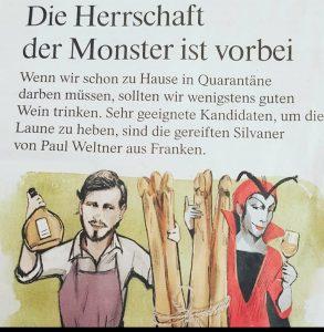 """""""Die Herrschaft der Monster ist vorbei"""" FAZ 03.04.20"""